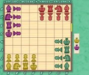 Eurasia-Chess: Chaturanga/Chaturaji ZRF for Zillions