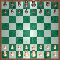EurasiaChess chessmen 3D: configuration initiale